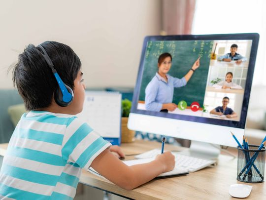 Sharjah private school students can choose direct, online or hybrid classes in new term