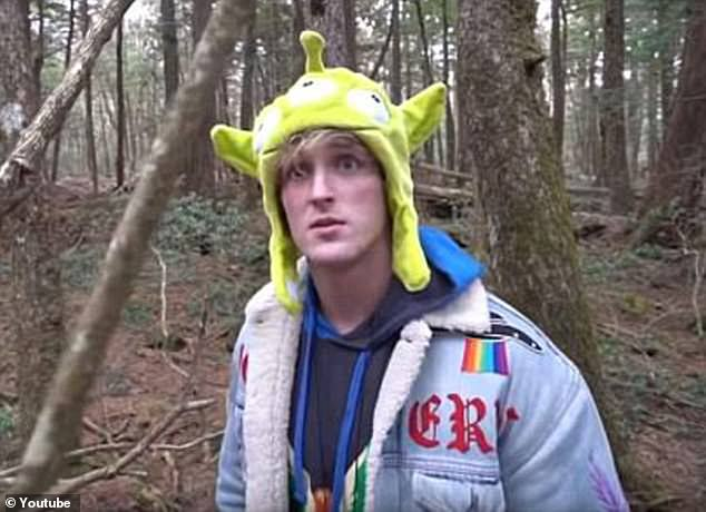 Logan was caught in scandal in after a December 31, 2017 vlog when he posted a shot of a person who had hanged themselves in Aokigahara, Japan near Mount Fuji