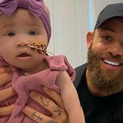 EOTB's Ashley Cain says baby Azaylia needs more surgery as she fights leukaemia