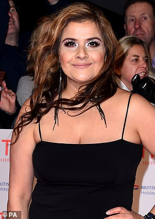 EastEnders actress Nina Wadia received an OBE
