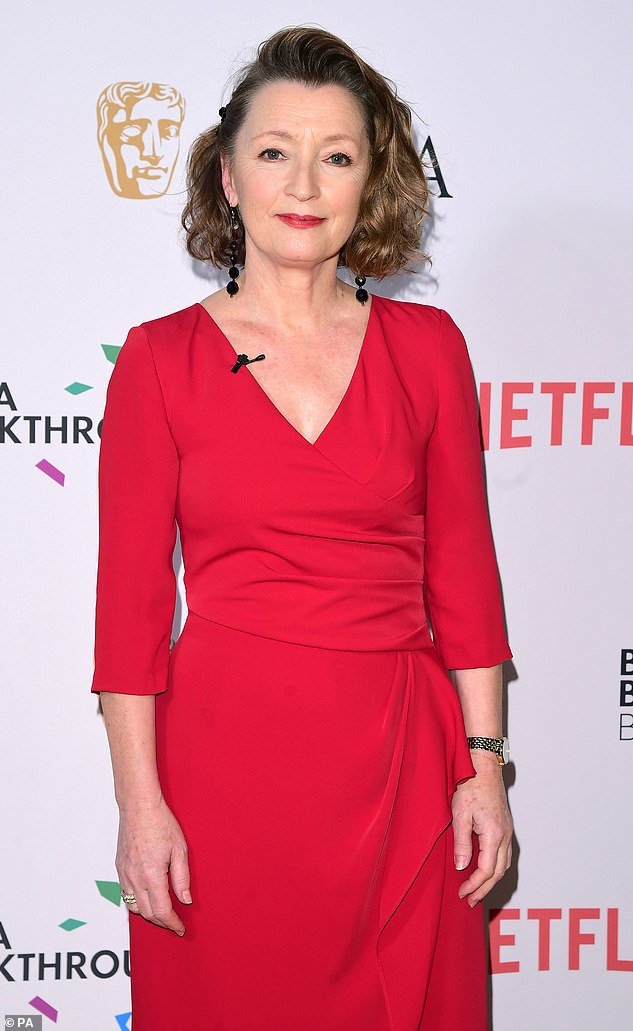 Actress Lesley Manville, 64, who will play Princess Margaret in the final two seasons of Netflix hit The Crown, was made a CBE