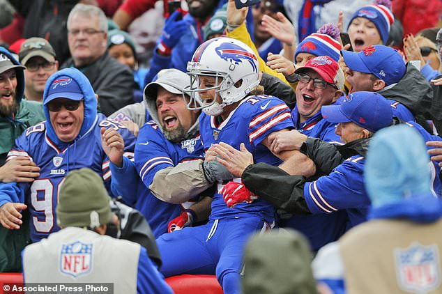 The Buffalo Bills will be the first to test the program during their home playoff game in January 9 or 10 by allowing 6,722 fans in the stands