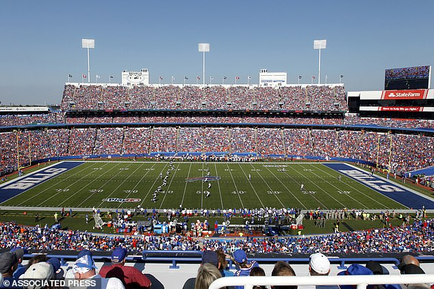 The limited number of fans is about 10 per cent of Bills Stadium's capacity in Orchard Park which seats about 72,000 people