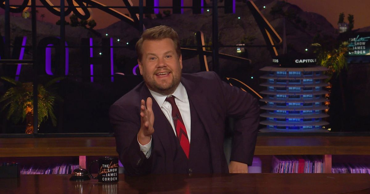 Homesick James Corden 'set to quit The Late Late Show to return to the UK'