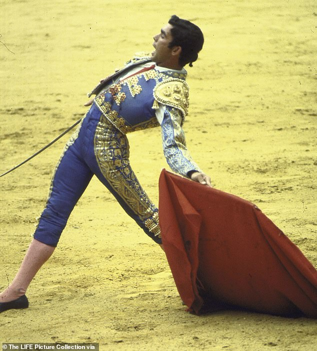 Legacy: They are the sons of celebrated matador Francisco Rivera, known by his nickname Paquirri, who was gored to death in 1984. Pictured, Paquirri in the ring in 1969