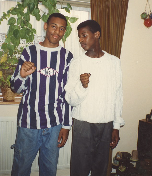 Stephen (pictured left) who was studying for A-Levels, was stabbed to death aged 18, shortly after 10.30pm on April 22, 1993, as he and a friend waited for a bus home