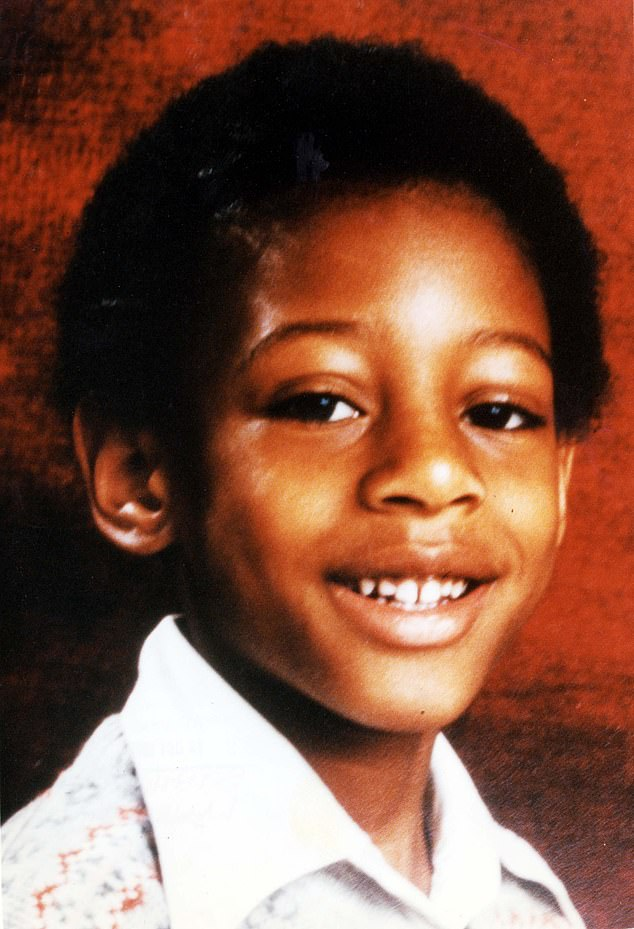 Baroness Doreen Lawrence revealed she lost much of her hair 'through stress'. Pictured: Stephen as a boy