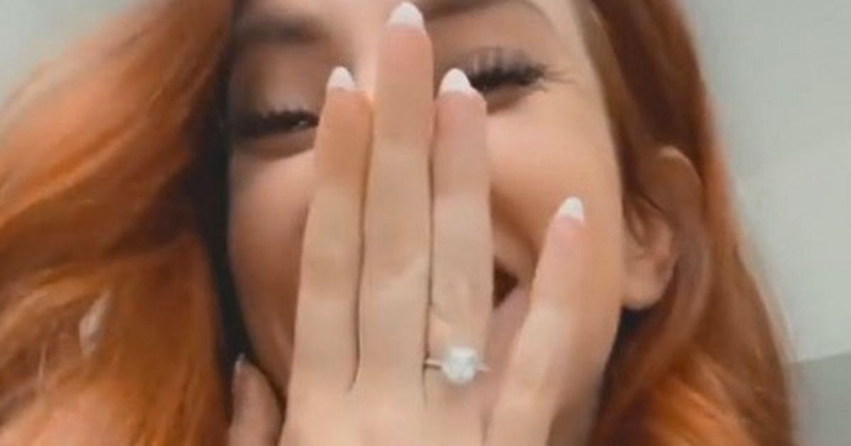 Newly engaged Stacey Solomon shares secret about her special ring after proposal