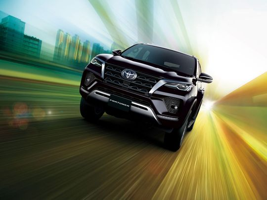 2021 Toyota Fortuner launched in the UAE