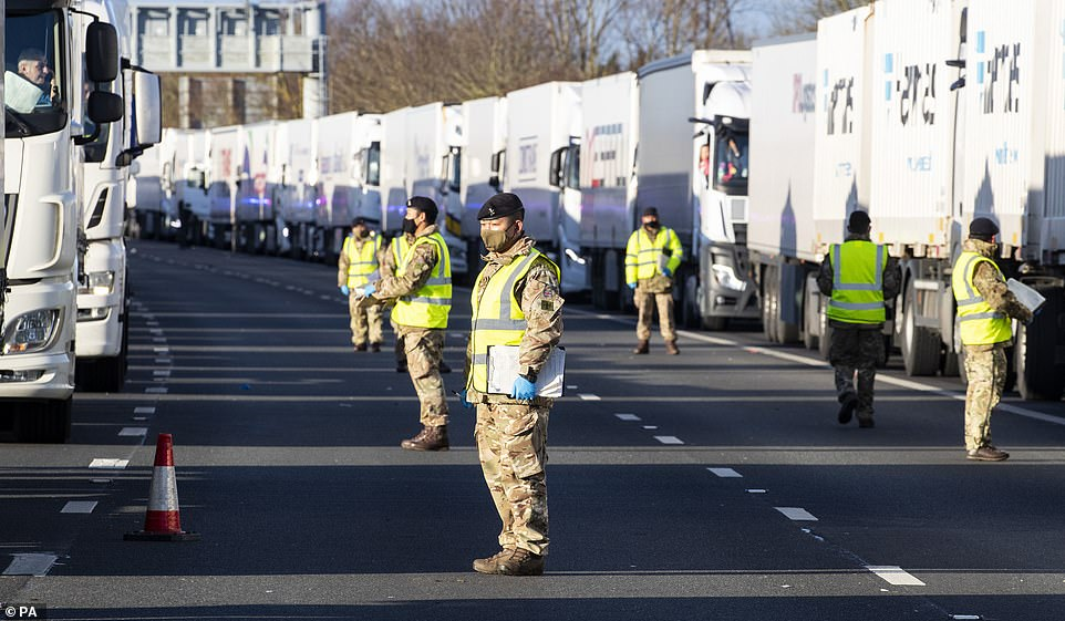 3,000 lorry drivers are STILL waiting to cross The Channel after spending Christmas Day in cabs