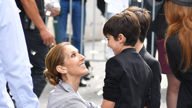 8 Stars & Their Families In Matching Christmas Pajamas: Celine Dion & More