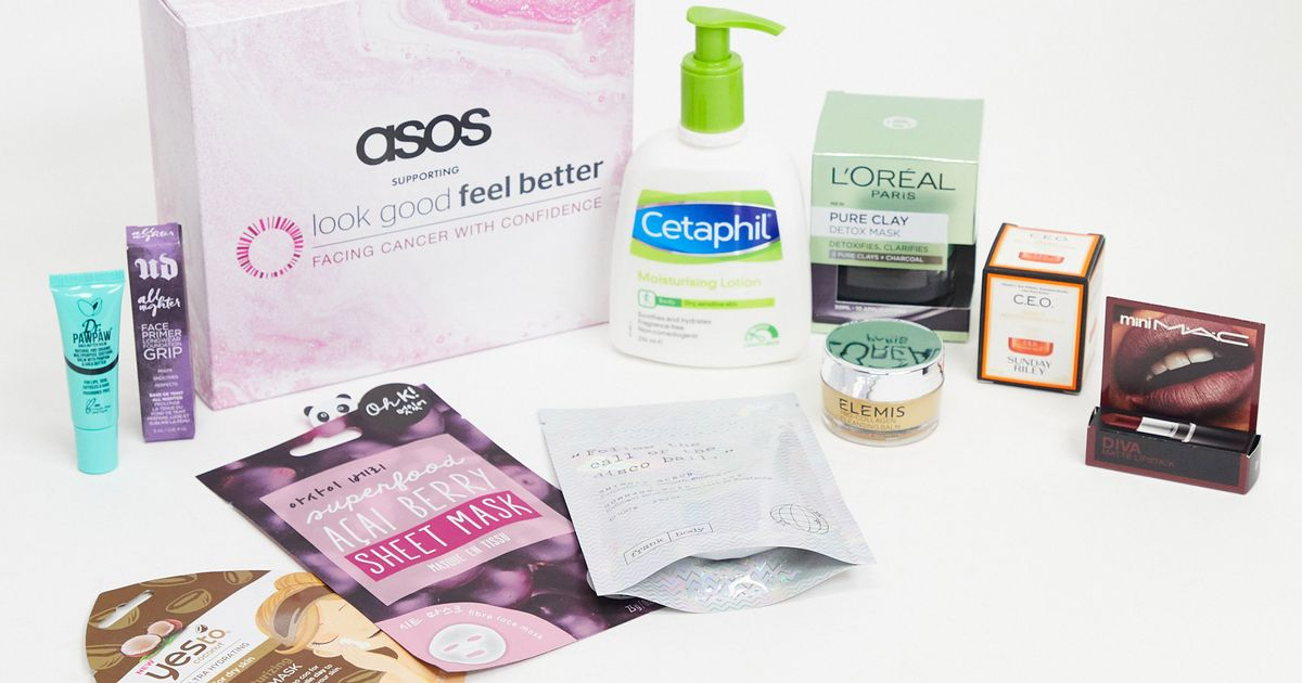 ASOS unveil £20 beauty box for Look Good Feel Better with 100% profits donated