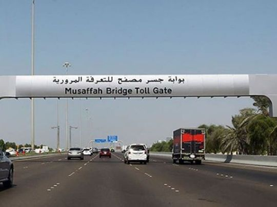 Abu Dhabi to roll out road tolls from January 2, 2021