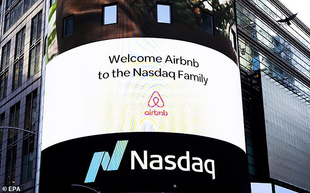 Airbnb now valued at $100B after shares soar in US market debut