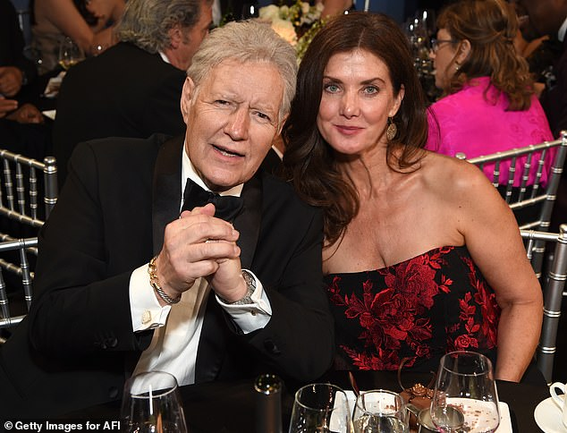 Alex Trebek's widow spends her first Christmas without the Jeopardy! host