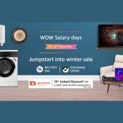 Amazon Wow Salary Days Kicks Off With Up to 30 Percent Off on Laptops, More