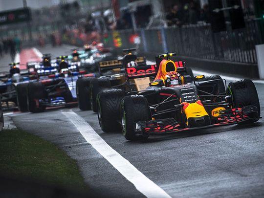 Anatomy of a Formula One Grand Prix race