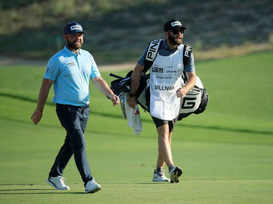 Andy Sullivan clings on to lead at Golf in Dubai Championship