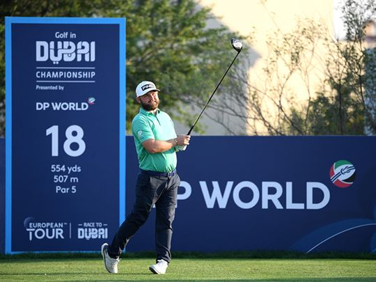 Andy Sullivan continues to sizzle on Fire course at Golf in Dubai