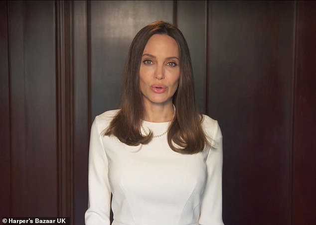 Angelina Jolie advises women who fear being abused over the holidays: 'Be connected for emergencies'