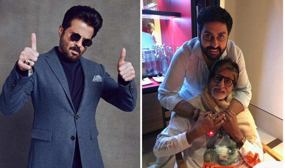 Anil Kapoor jokes about taking up Amitabh Bachchan and Abhishek Bachchan's rejected films. Watch video