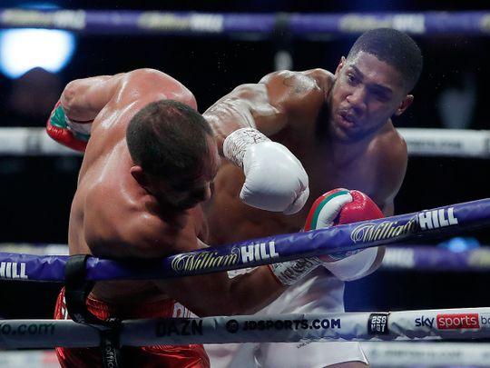 Anthony Joshua knocks out Kubrat Pulev to set up potential Fury fight
