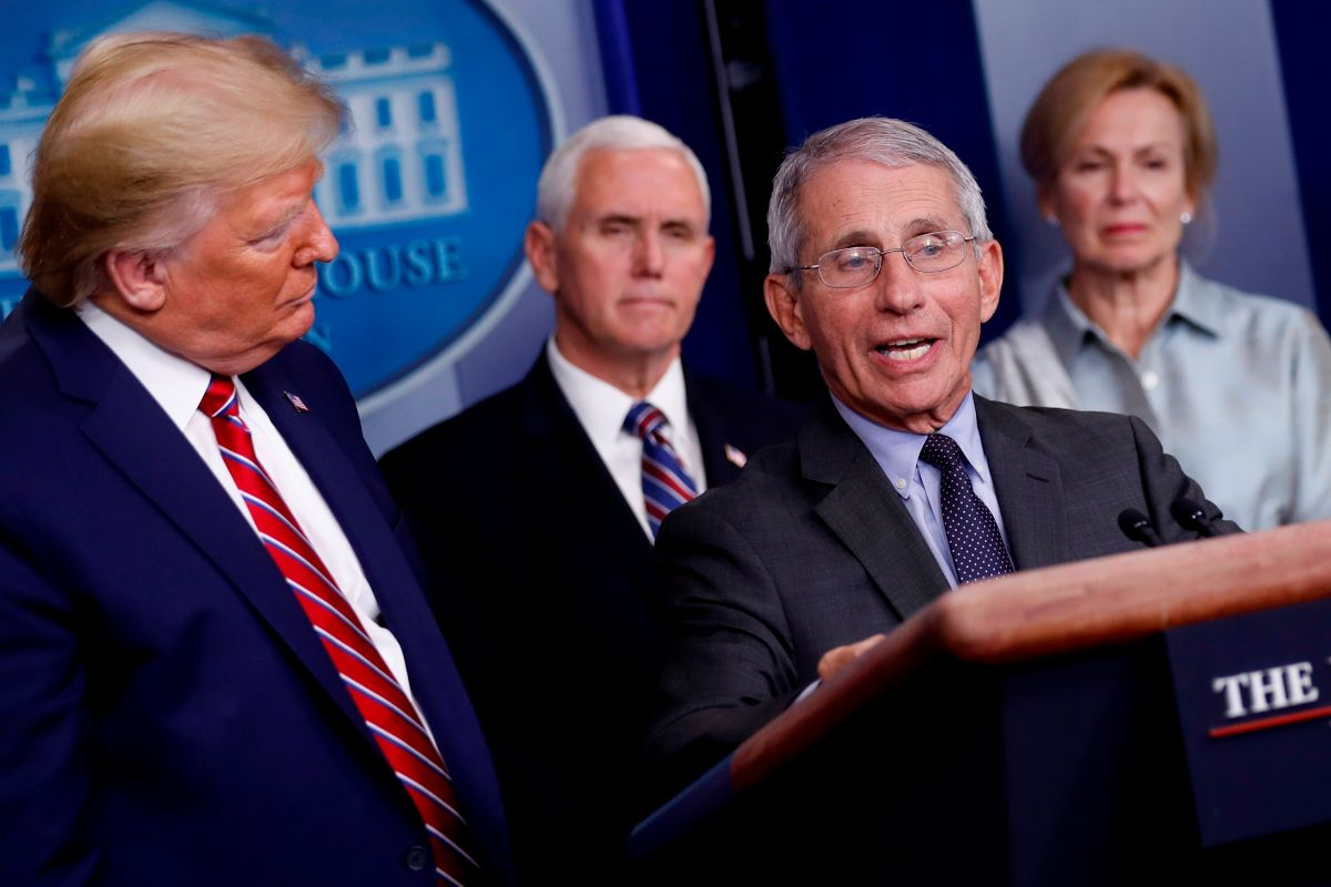 "At least until ""late fall"" 2021 we will continue to use the mask, says Fauci 