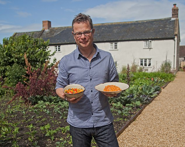 Ater making his name with rich country fare, Hugh Fearnley-Whittingstall is back with a new look