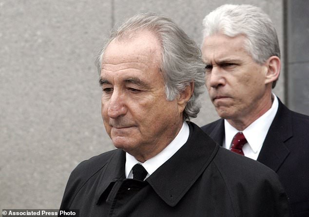 The victims of Bernie Madoff are to receive their share of another $488 million in recovered funds. The former financier is pictured here leaving court in 2009