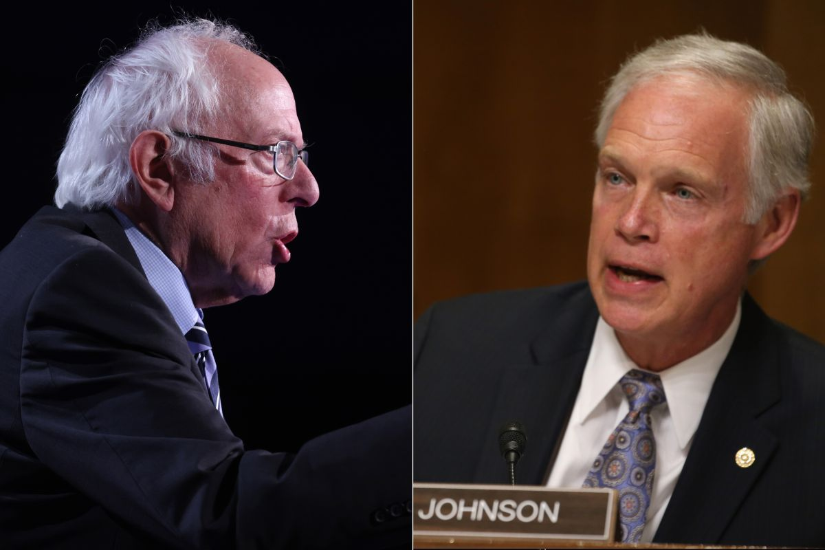 Bernie Sanders harsh criticism of his colleague Ron Johnson for blocking stimulus check | The opinion