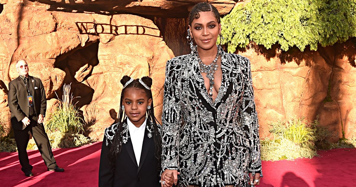 Beyoncé and Jay-Z's daughter Blue Ivy becomes Grammy nominee at age eight
