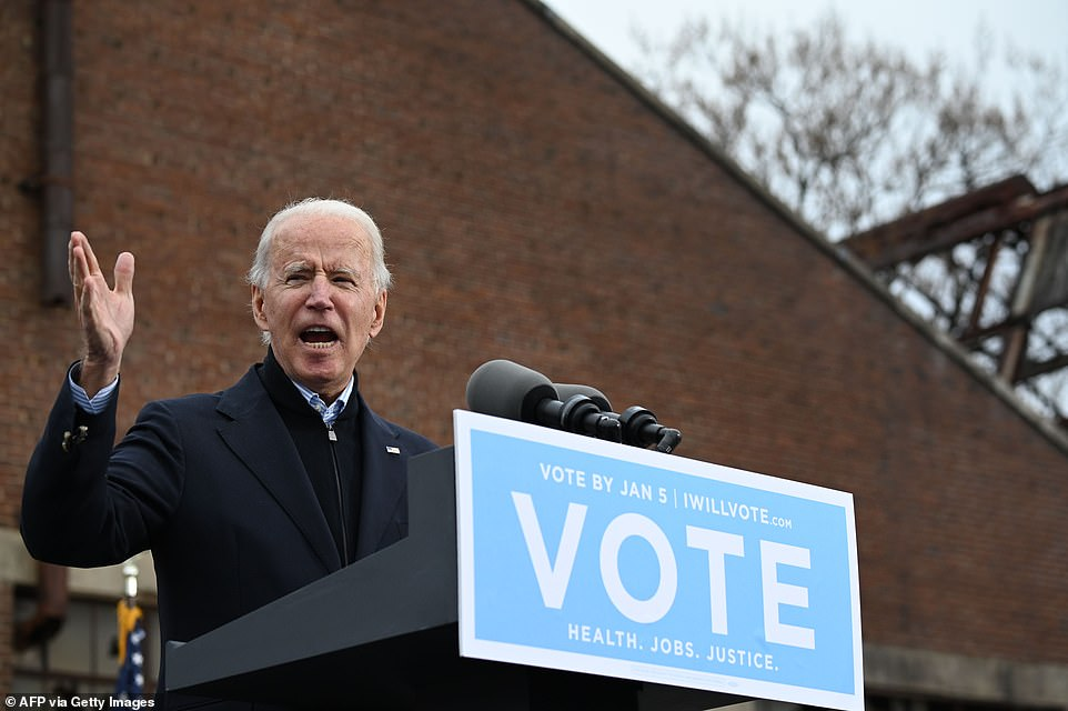 Biden pleads with people of Georgia to give him control of the Senate in January 5 runoffs