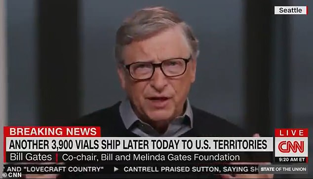 Bill Gates says US entering worse phase of COVID pandemic and predicts lockdowns will last into 2022