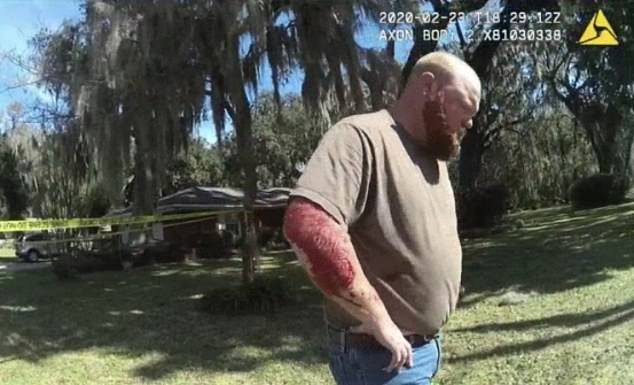 Bodycam shows Travis McMichael speaking to police Ahmaud Arbery shooting