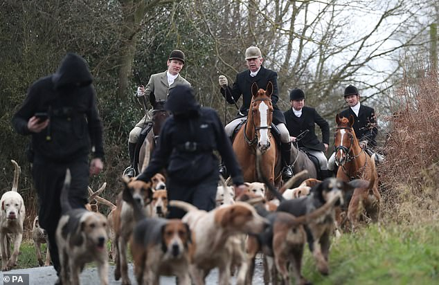 Boxing Day hunts still go ahead but under stringent Covid rules while tradition suspended in Tier 4