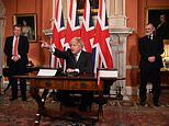 Brexit trade deal is signed into law