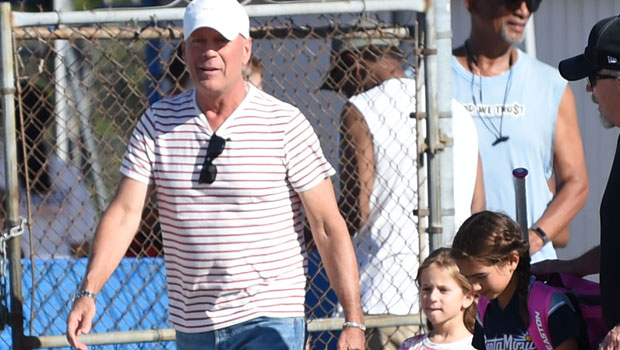 Bruce Willis, 65, Seen In Rare Photo With Kids Mabel, 8, & Evelyn, 6, As Ex Demi Shares Pics With Their Girls