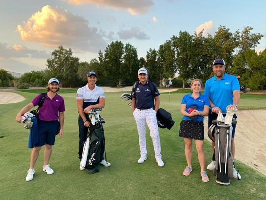 COVID-19: Dubai doctor's day out with international golfing stars