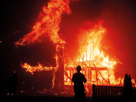 Can the insurance company refuse to pay fire compensation if it's caused deliberately?