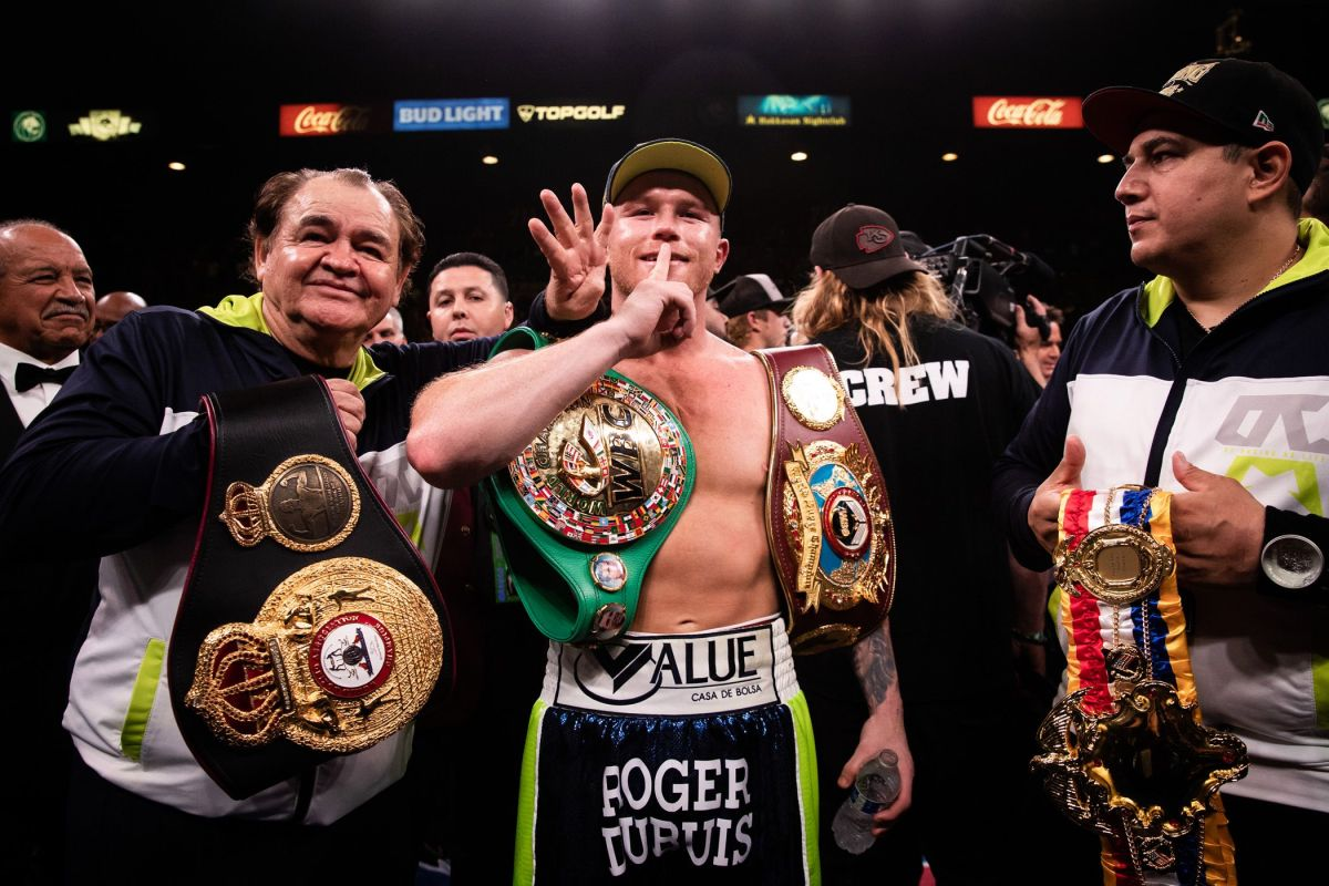 """""""Canelo"""" Álvarez sends a message to his detractors 20 days after entering the ring 