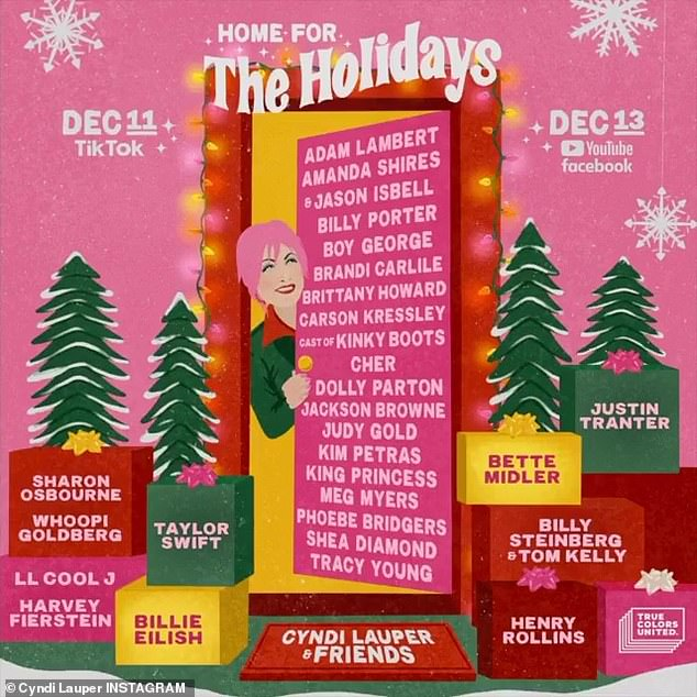 Cher and Dolly Parton will perform at the 10th Annual Home For The Holidays benefit concert