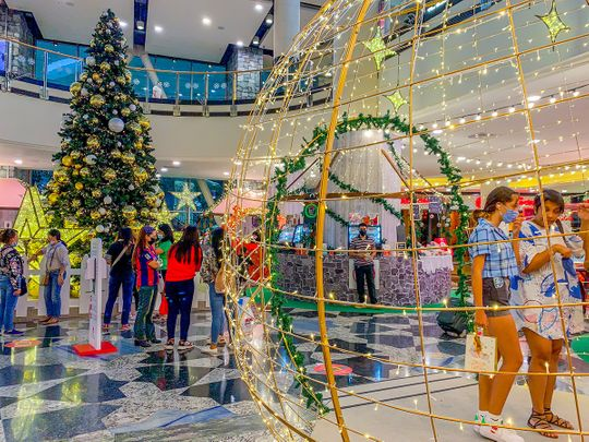 Christmas shopping and fanfare in full swing across UAE