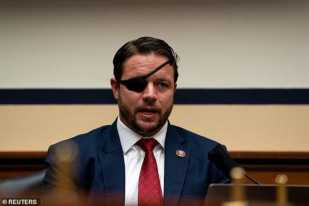 Congressman Dan Crenshaw blames a 'breach' after his Twitter account follows an escort