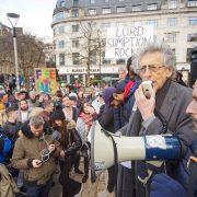 Coronavirus UK: Protesters hit the streets in London, Bristol, Edinburgh and Brighton