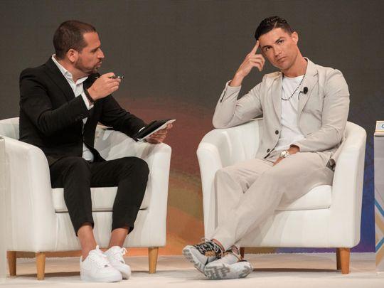 Cristiano Ronaldo confirmed as speaker for Sunday's Dubai International Sports Conference