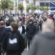 Crowds flock to Tier 2 shops just miles from towns living under Tier 4