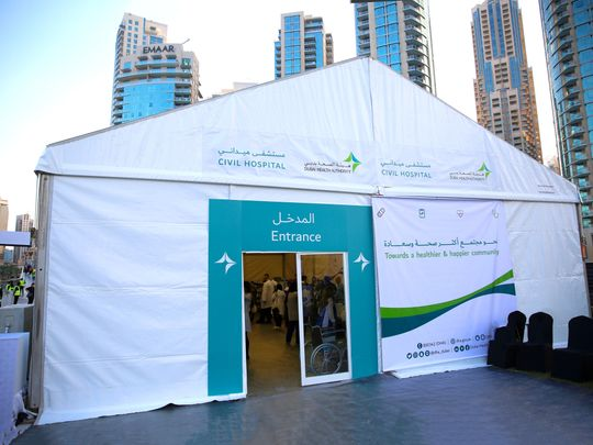 DHA to set up three field hospitals for New Year's Eve celebrations in Dubai