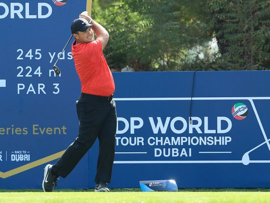 DP World Tour Championship: Patrick Reed edges closer to Race to Dubai title