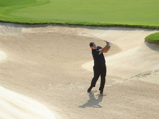 DP World Tour Championship: Race to Dubai title in balance with log-jam going into final round