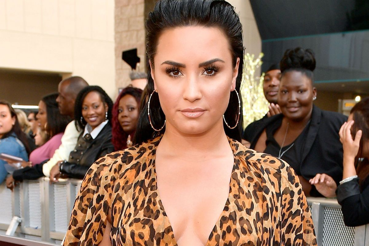 Demi Lovato publishes a photo with extreme zoom to this part of her body and you will not see it in OnlyFans The State